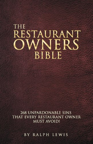 9780983449379: The Restaurant Owners Bible
