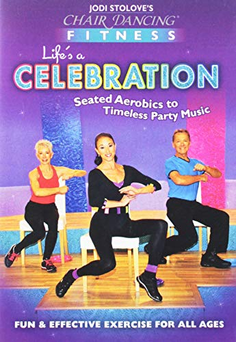 9780983488309: Chair Dancing Fitness: Life's A Celebration [HD DVD]