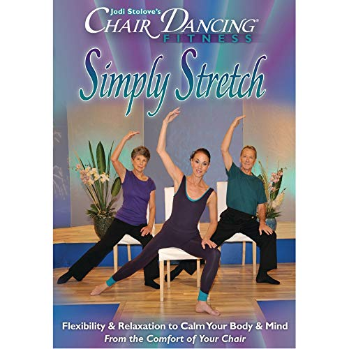 9780983488316: Chair Dancing Fitness Presents: Simply Stretch [HD DVD]