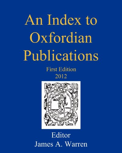 An Index to Oxfordian Publications: Warren, James A.