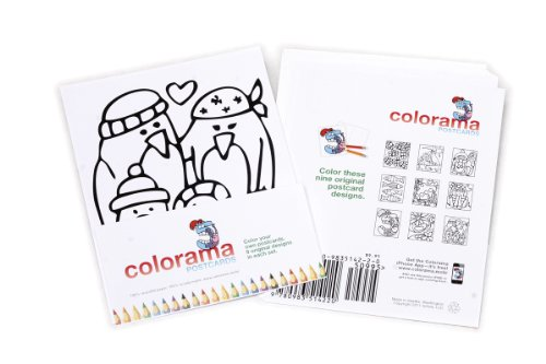 Colorama Postcards - Pack 2