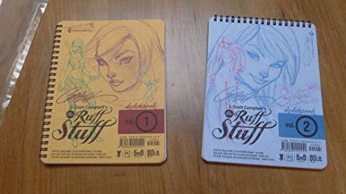 9780983555551: J. Scott Campbell's The Ruff Stuff Vol 1 & 2 signé