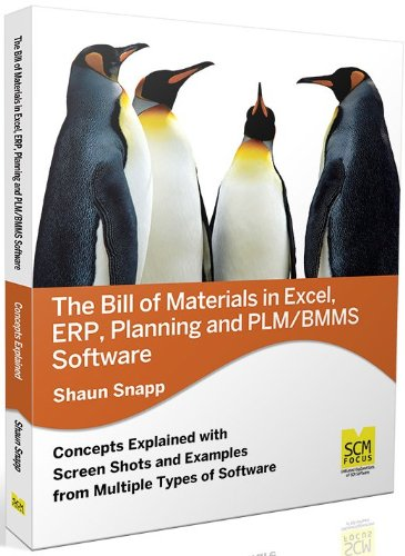 9780983715535: The Bill of Materials in Excel, Erp, Planning and Plm/Bmms Software