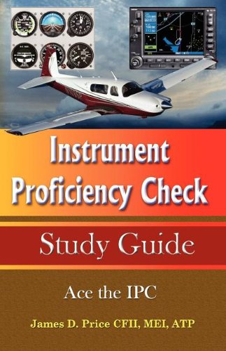Instrument Proficiency Check Study Guide: Price, James D