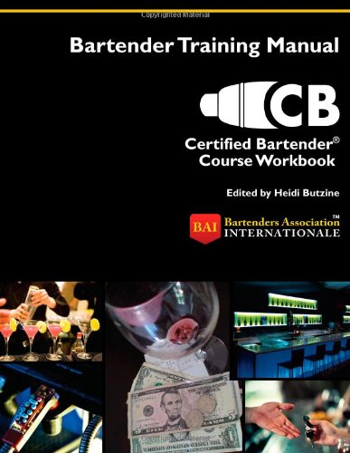 9780983786252: Certified Bartender® Course Workbook