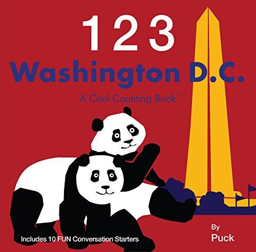 9780983812104: 123 Washington D.C. (Cool Counting Books)