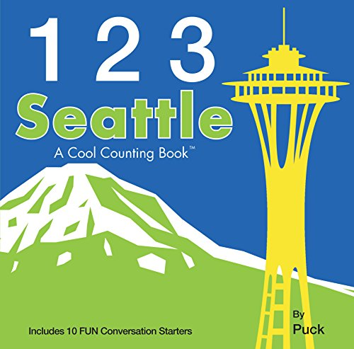 9780983812180: 123 Seattle (Cool Counting Books)
