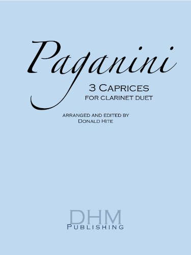 9780983832225: 3 Caprices for Clarinet Duet