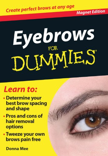 9780983850380: Eyebrows for Dummies: Create Perfect Brows at Any Age (Fingertip Books for Dummies)