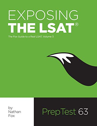 9780983850526: Exposing The LSAT: The Fox Guide to a Real LSAT, Volume 3: The Fox Test Prep Guide to a Real LSAT