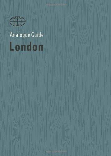 9780983858515: Analogue Guide London (Analogue Guides)