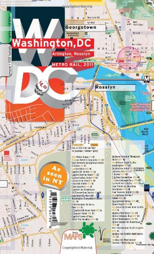 9780983879213: TerraMaps Washington DC Street Maps - Metro - Laminated - Waterproof