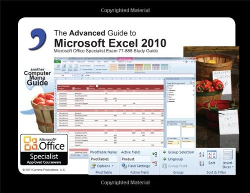 9780983891758: Advanced Guide to Microsoft Excel 2010