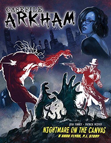 9780983923060: Casefile Arkham: Nightmare on the Canvas
