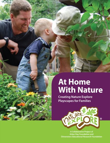 9780983946526: At Home with Nature: Creating Nature Explore Playscapes for Families