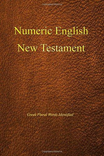 Numeric English New Testament, Greek plural words identified
