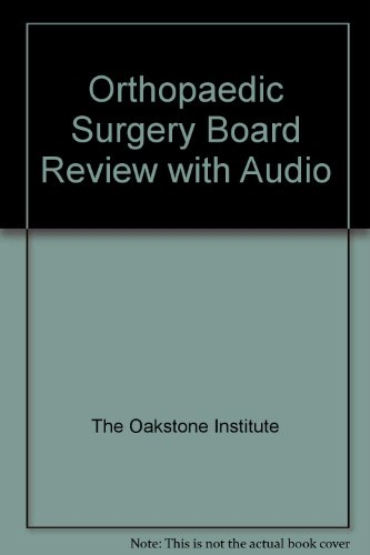 9780983973706: Orthopaedic Surgery Board Review with Audio