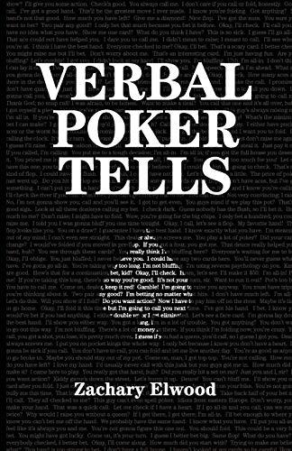 9780984033362: Verbal Poker Tells