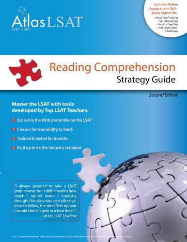 9780984054923: Atlas LSAT Reading Comprehension Strategy Guide