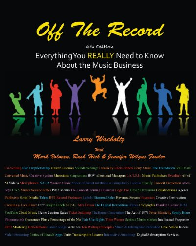 9780984057245: Off the Record