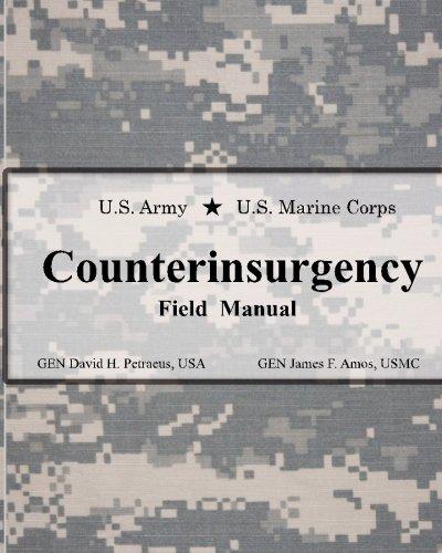 9780984061433: U.S. Army U.S. Marine Corps Counterinsurgency Field Manual