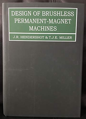 9780984068708: Design of Brushless Permanent-Magnet Machines