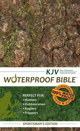9780984085705: Waterproof New Testament with Psalms and Proverbs-KJV-Tree Bark