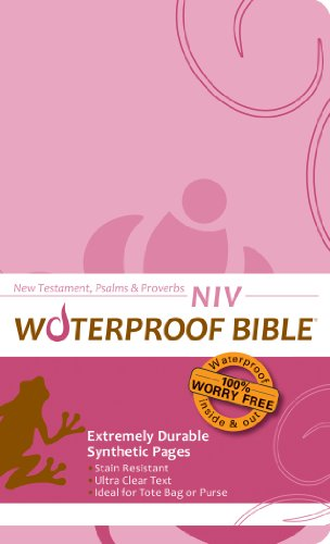 9780984085767: Waterproof New Testament with Psalms and Proverbs-NIV-Pink
