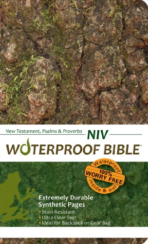 9780984085774: Waterproof Bible - New Testament Ps. & Pr. - NIV - Camo Tree Bark