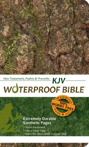 9780984085798: Waterproof Durable New Testament with Psalms and Proverbs-KJV-Camouflage