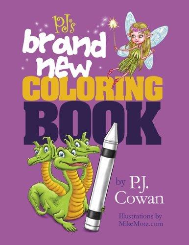 9780984119455: PJ's Brand New Coloring Book