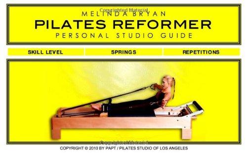 9780984149254: Pilates REFORMER Personal Studio Guide