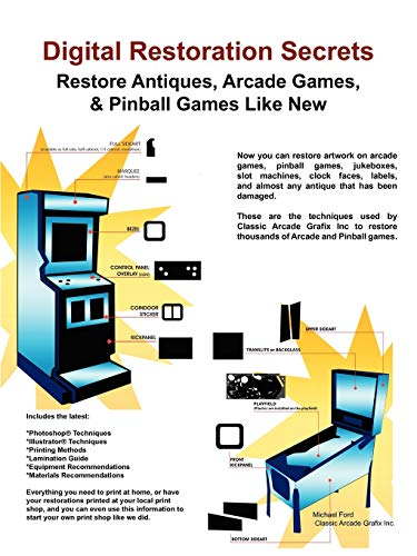 9780984158447: Digital Restoration Secrets: Restore Antiques, Arcade Games,& Pinball