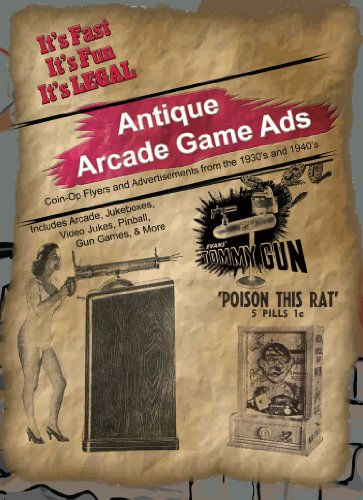 9780984158461: Antique Arcade Game Ads - 1930s to 1940s