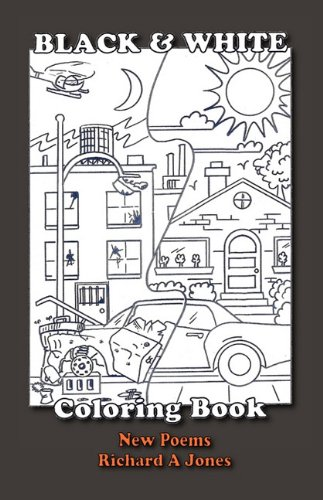 Black and White Coloring Book: RICHARD A JONES