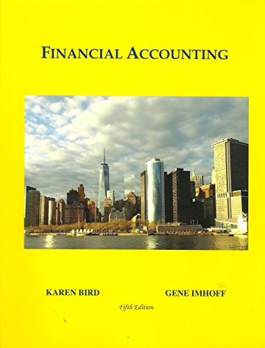 Financial Accounting: Karen Bird And