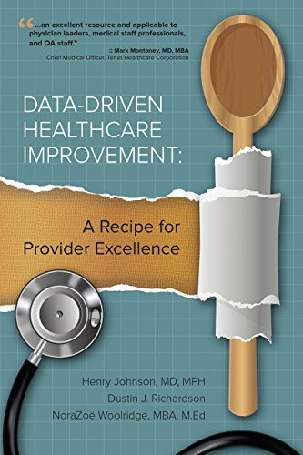 9780984205134: Data-Driven Healthcare Improvement: A Recipe for Provider Excellence