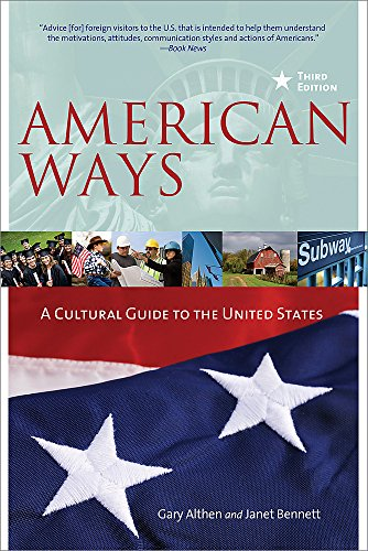 9780984247172: American Ways: A Cultural Guide to the United States of America
