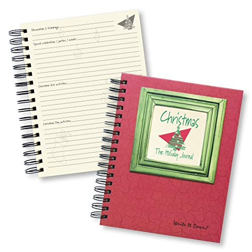 9780984257843: Christmas, The Holiday Journal, 25 Years of Memories Hardcover, RED Color