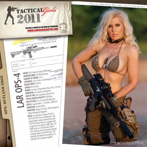 9780984264148: Tactical Girls 2011 Gun Calendar