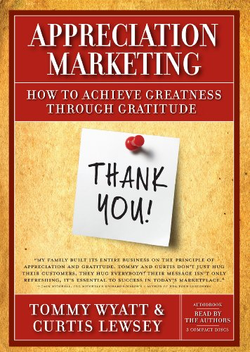 9780984270385: Appreciation Marketing Audiobook