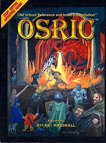 9780984287024: OSRIC: Old School Reference and Index Compilation (Advanced Dungeons & Dragons, 1st Edition)