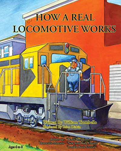 9780984299850: How a Real Locomotive Works