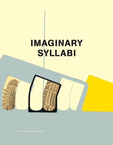Imaginary Syllabi: Sprague, Editor Jane