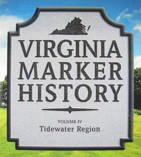 9780984317936: Virginia Marker History Volume IV: Tidewater Region (Virginia Guidebooks, Volume 4)