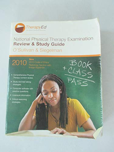 2010 NPTE (National Physical Therapy Examination) Review & Study Guide: O'Sullivan