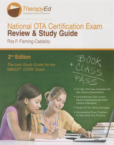 9780984339327: National Occupational Therapy Assistant Certification Exam Review & Study Guide