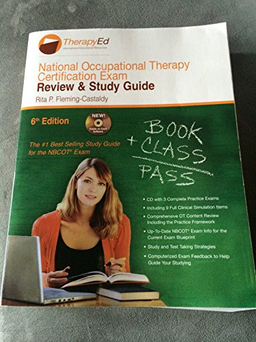 9780984339358: National Occupational Therapy Certification Exam: Review & Study Guide, 6th Edition