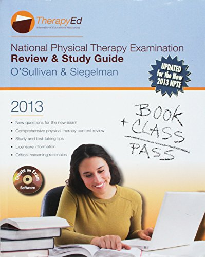 National Physical Therapy Examination: Review and Study: Susan B. OSullivan