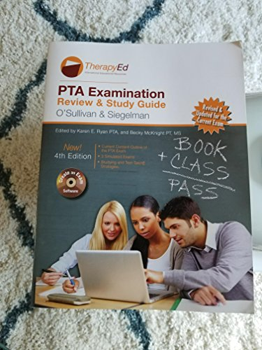 PTA Examination Review and Study Guide (4th: O'Sullivan & Siegelman